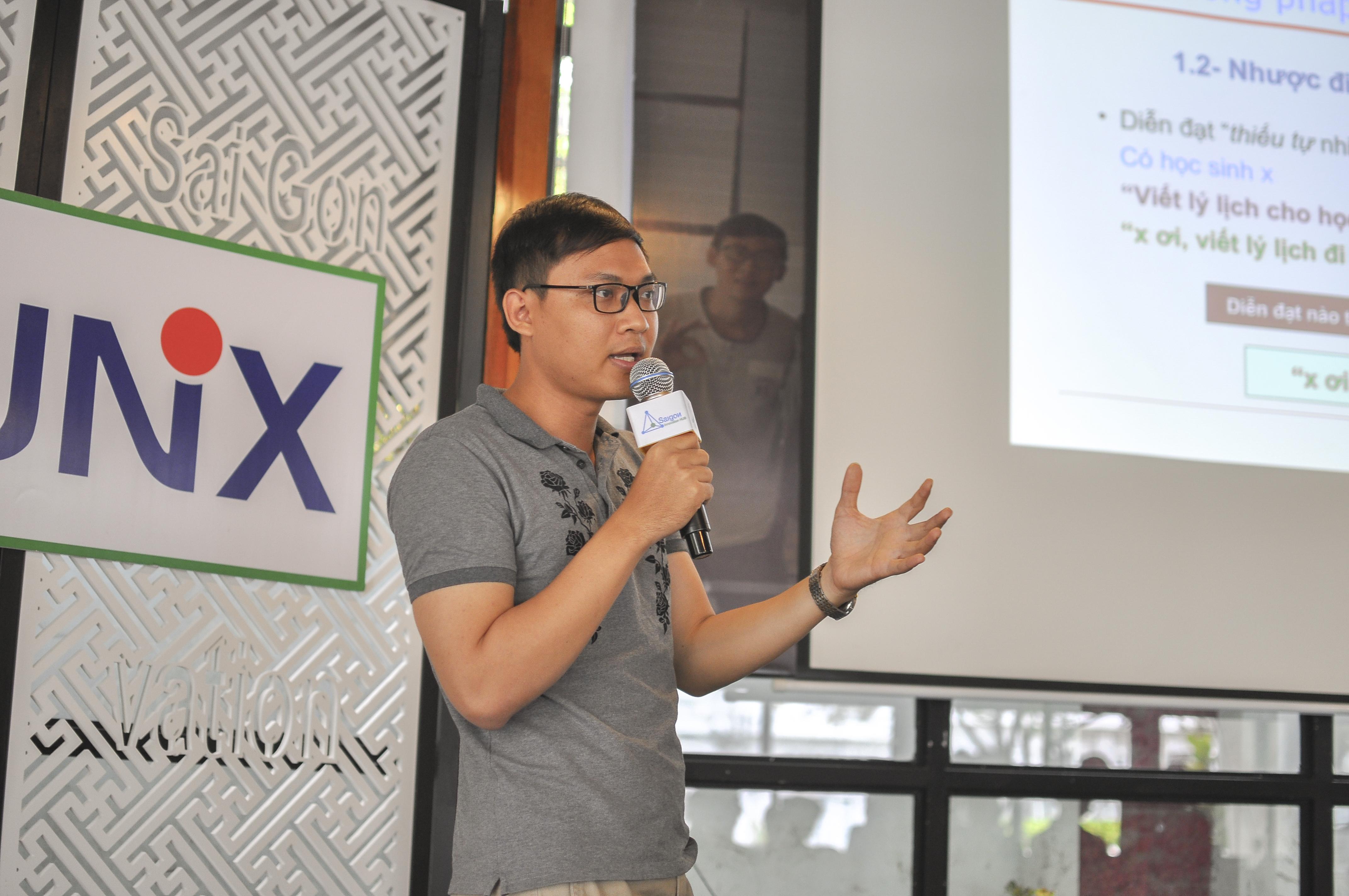 diễn giả networking - mentor Trần Mạnh Linh