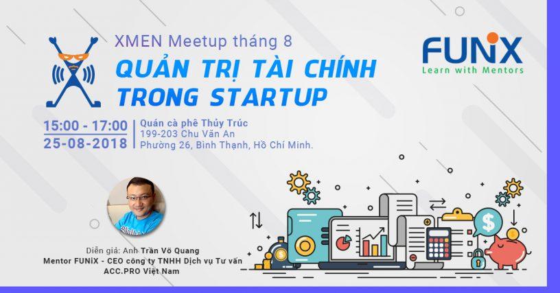 CEO công ty ACC PRO Việt Nam nói về Quản trị tài chính trong Start up